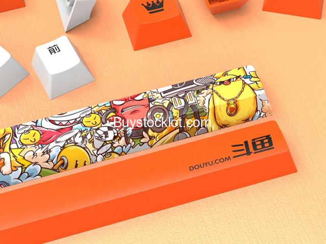 2020 New 114keys PBT Hot sublimation Wear-resistant keycaps with Custom OEM for Mechanical Gaming wh - 3/7