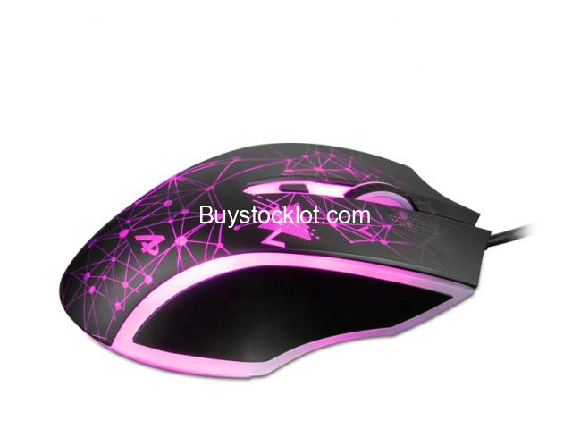 AJAZZ AJ119 Black E-sports Light RGB PC Wired Gaming Game Mouse For Player Gamer DPI Optical USB Mou - 4/6