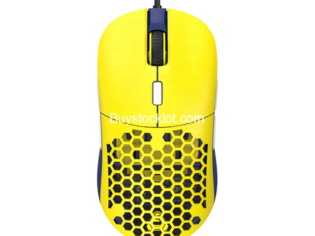 F15 RGB Honeycomb Gaming Mouse Ergonomic Design, Programmable Buttons 16000DPI Wired Lightweight Mic - 3/6
