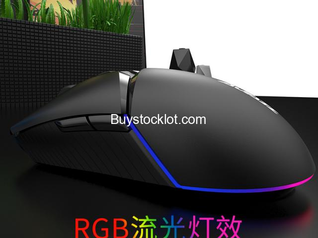 New 2.4Hz Dual-mode RGB Mouse Lightweight Ergonomic Design 16000DPI Gaming Computer Mouse whole sale - 5/6