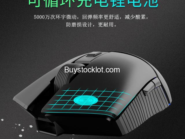 New 2.4Hz Dual-mode RGB Mouse Lightweight Ergonomic Design 16000DPI Gaming Computer Mouse whole sale - 6/6