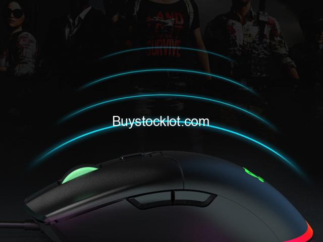 New Dptical Gaming Mouse RGB Lighting Macro programming DPI custom wired mouse whole sale - 5/6
